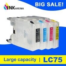 Многоразовые картриджи INKARENA LC12 LC40 LC71 LC73 LC75 LC400 LC1220 LC1240 XL для Brother MFC J435W J835DW J280W J425W