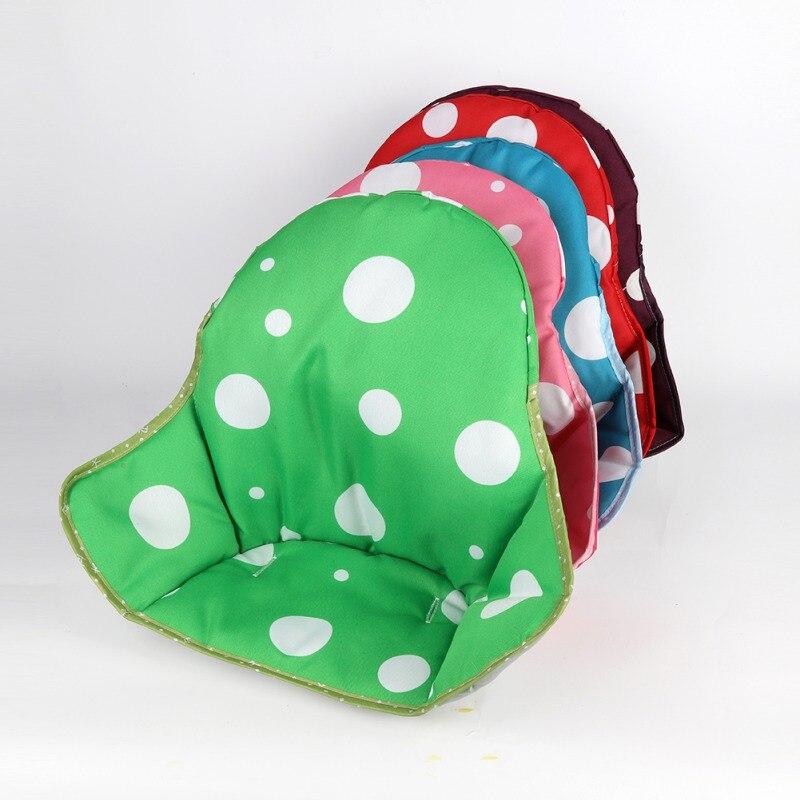 Baby Kids Children High Chair Cushion Cover Booster Mats Pads Feeding Chair Cushion Stroller Seat Cushion 5Colors