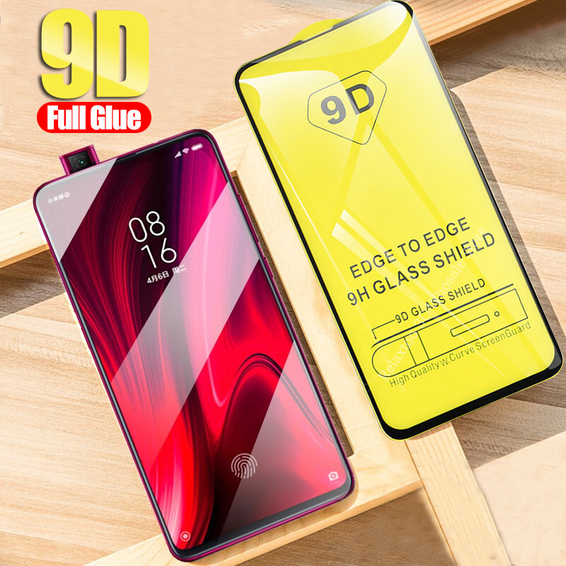 9D Full Glue Protective Glass For Xiaomi Mi 9t Tempered Glass On Xiomi Mi 9t Pro 9 9se Mi9 T 9tpro Mi9t Mi9pro Safety Film Cover