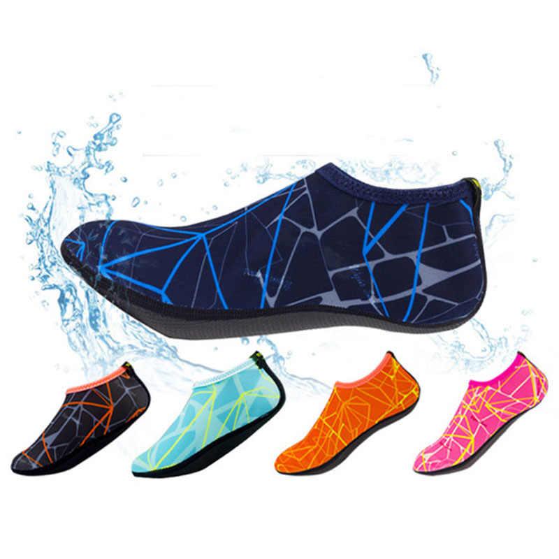 Mannen Ad Vrouwen Zomer sneldrogende Duiken Sokken Zwemmen Schoenen Snorkelen Strand Sokken Coral Schoenen Mannelijke Ouder-kind modellen 24-46