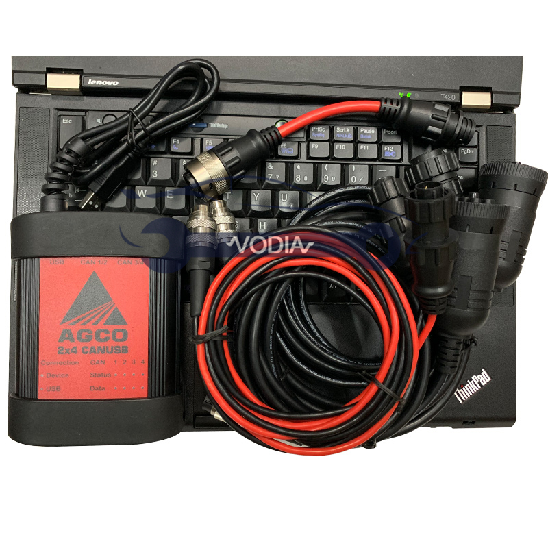 T420 Laptop for AGCO CANUSB EDT Interface <font><b>Electronic</b></font> Diagnostic <font><b>Tool</b></font> AGCO Heavy Duty Agricultural Diagnosis Scanner image