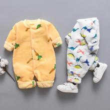 2019 Newest Baby Girl Boy Clothes Romper Warm Winter Thick Newborn Infant Baby C