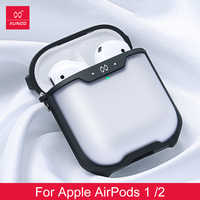 Earphone Case Matte Surface Texture Protective Headphone Case For Airpods Shockproof XUNDD Cover Bluetooth Wireless