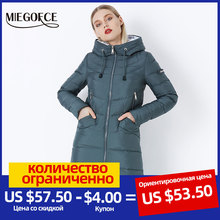 Jacket Coat Parkas Biological-Down Winter Women's Simple New Warm MIEGOFCE High-Quality