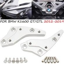 Elevadores de manillar de aleación de aluminio para motocicleta, adaptadores de altura de 18mm para BMW K1600GT K1600GTL K1600 2004 2009