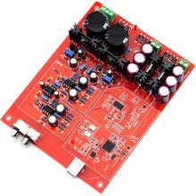 XMOS U8 + WM8741 + AD827 4700UF/35V*2 PCM and DSD USB Decoder Assembled Board YJ0098 best pure usb decoder xmos xu208 du u8 dac asynchronous usb coax fiber xmos ultimate edition dsd
