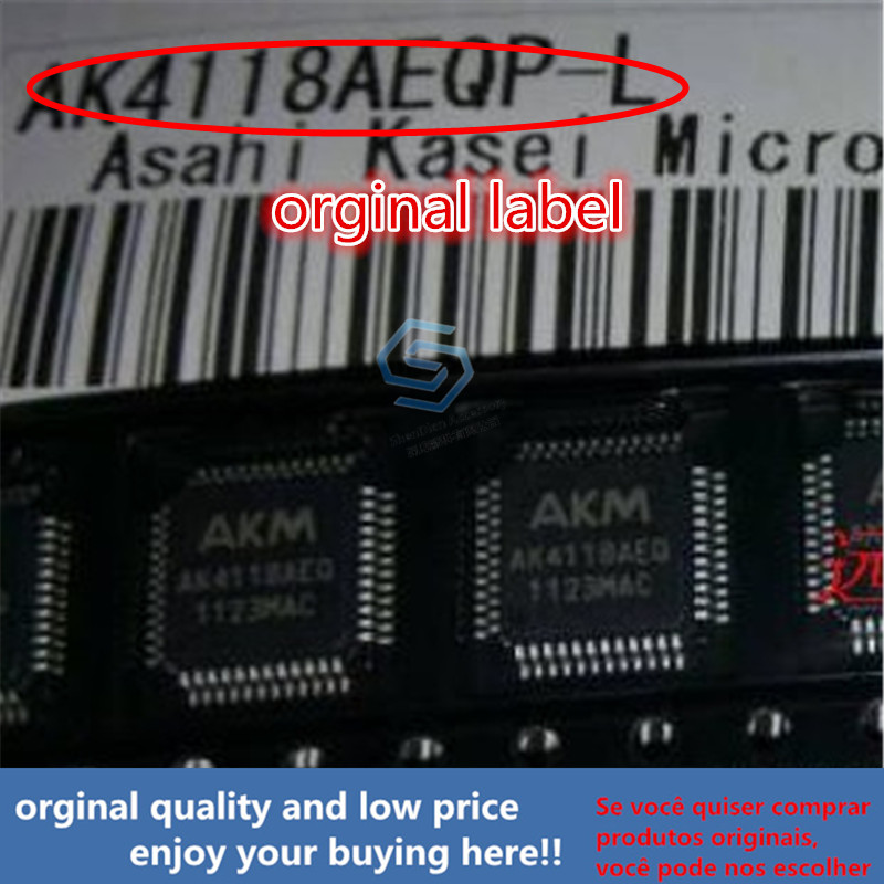 1pcs 100% Orginal New Best Qualtiy AK4118AEQP For DAC AK4118 QFP AK4118AEQP  QFP Free Shipping