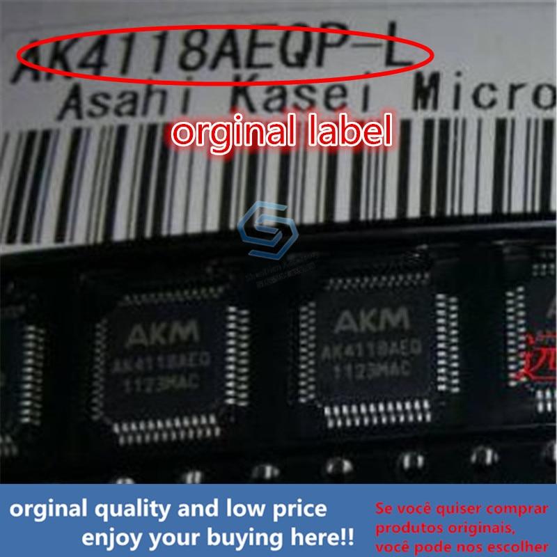 1pcs 100% Orginal New Best Qualtiy AK4118AEQP For DAC AK4118 QFP AK4118AEQP  QFP Free Shipping