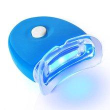Мини Синий светильник Led холодный отбеливающий зуб инструмент отбеливание зубов от зубных пятен свежее дыхание