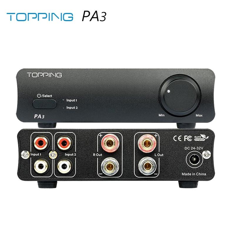 Dudas conectar dac + ampli a PC con altavoces pasivos  TOPPING-PA3-amplificador-Digital-HiFi-de-escritorio