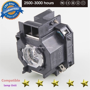 Image 4 - High Quality for ELPLP42 New Replacement Projector Lamp Module For EPSON EMP 400W EB 410W EB 140 W EMP 83H PowerLite 822 H330B