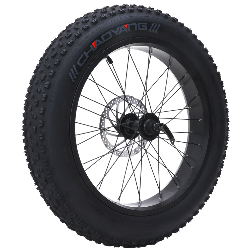 MX20 Electric Snowmobile Front Wheel Beach Car Front Wheel 20 Inch Thick Bicycle With Inner Tube 4.0 Fat Tire
