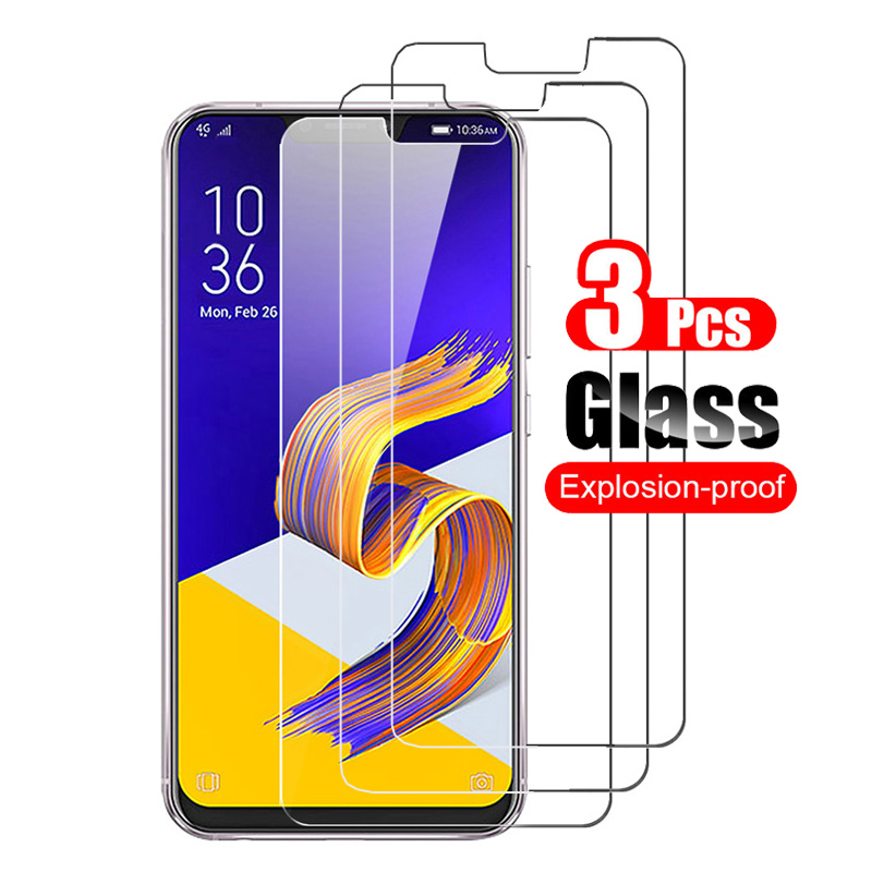 3Pcs Tempered Glass For Asus Zenfone 5 ZE620KL Zenfone 5z ZS620KL Screen Protector Guard Toughened Film Premium Glass 9H