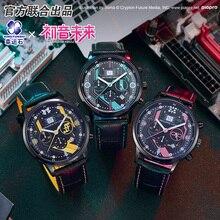 하츠네 미쿠 애니메이션 시계 방수 만화 역할 카가미 액션 피규어 코스프레 보컬 로이드 시계