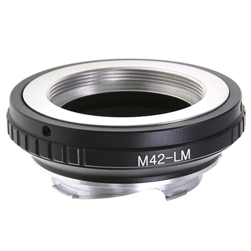 Carl Zeiss M42 42 milímetros Adaptador de Lente para Leica M LM M3 M4 M5 M6 M7 M8 M9 Ricoh GXR-M