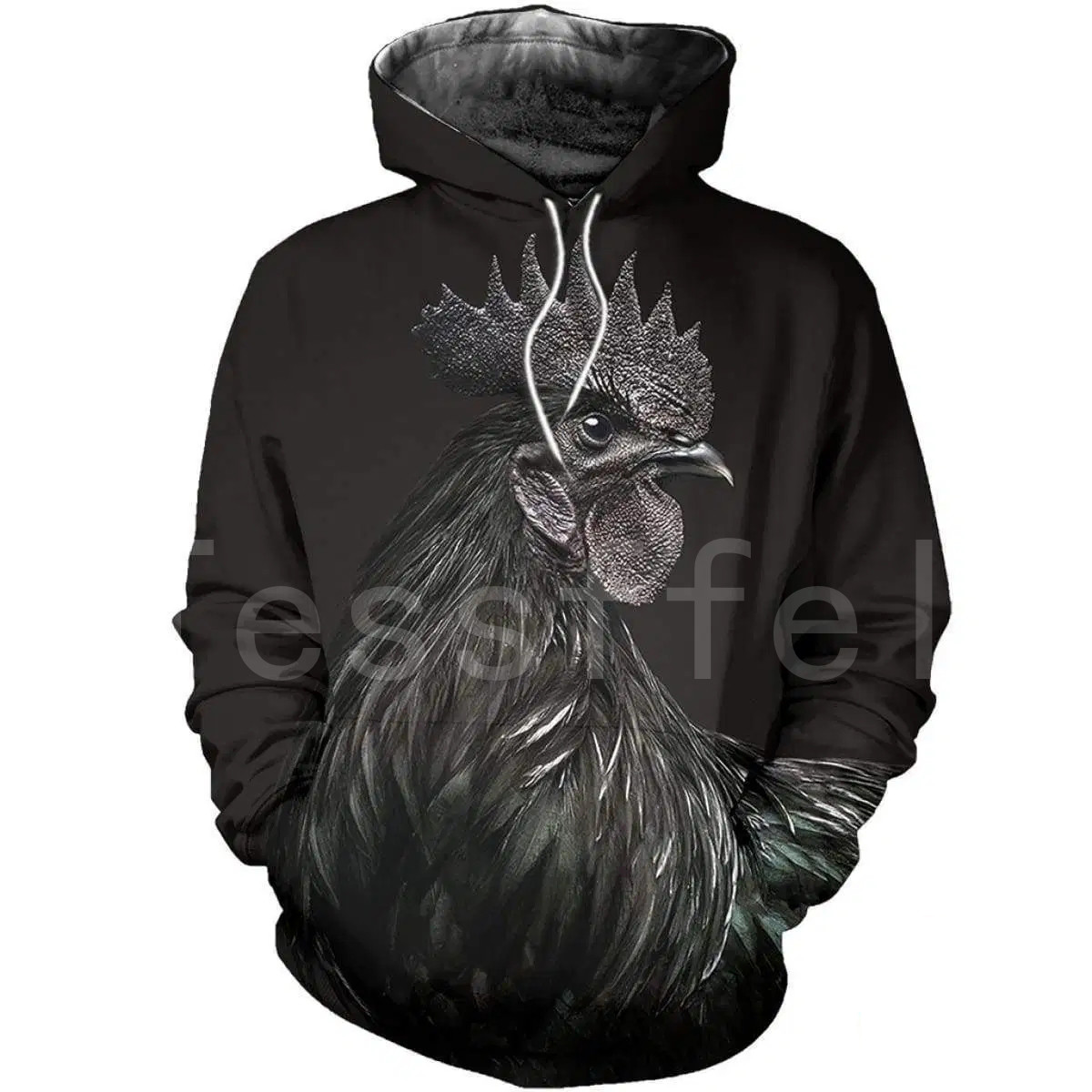 Tessffel Animal Symbol Chicken Rooster Funny Crewneck NewFashion Tracksuit Harajuku 3DPrint Zipper/Hoodies/Sweatshirts/Jacket C8