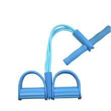 Fitness Gum Resistance Bands Latex Pedal Exerciser Sit-up Pu
