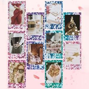 Image 2 - Véritable Fujifilm Instax Mini 8 Film confettis Fuji papier Photo instantané 10 à 50 feuilles For70 7s 50 s 90 25 partager SP 1 appareil Photo LOMO