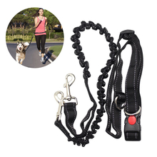 Einstellbare Hand Freies Hund Leine für Hund Pet Walking Laufen Jogging Blei Taille Gürtel Brustgurt