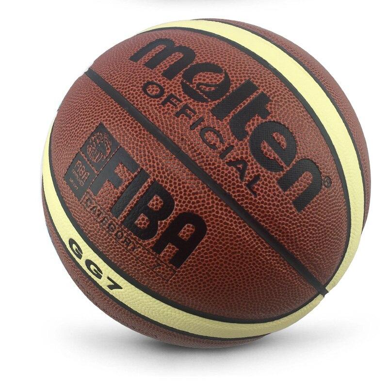 Баскетбольный мяч GL7 из полиуретана, оптом и в розницу, официальный размер, с сетчатым чехлом и иглой, новый бренд, дешево-4