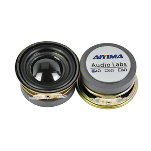 Image 2 - AIYIMA 2Pcs 1.5 Inch Full Frequency Sound Speaker 40MM 4 Ohm 3W Bluetooth Speaker PU Basin Loudspeaker For Audio Amplifier DIY