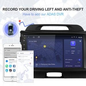 Image 4 - Isudar H53 4G Android 1 Din Tự Động Phát Thanh Cho Xe KIA/Sportage Máy Nghe Nhạc Đa Phương Tiện Octa Core RAM 4GB ROM 64GB GPS Camera Hình USB DVR DSP