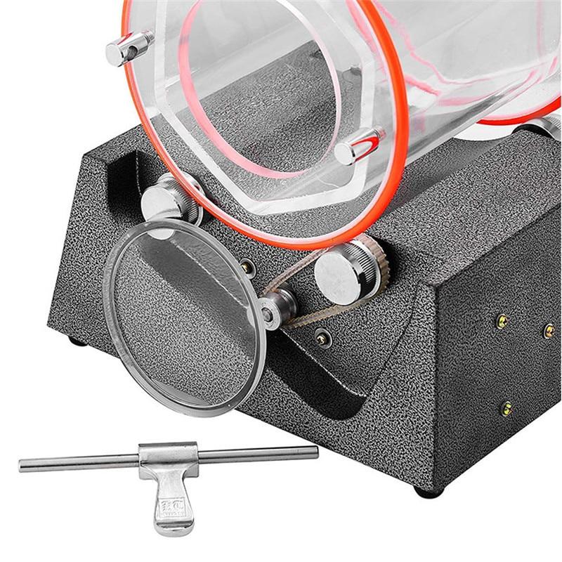 Mini Jewelry Tumbler Tumbler 5Kg Machine Jewelry Machine Tumbler Polishing KT 2000 Rotary Polisher Polisher Polishing Surface