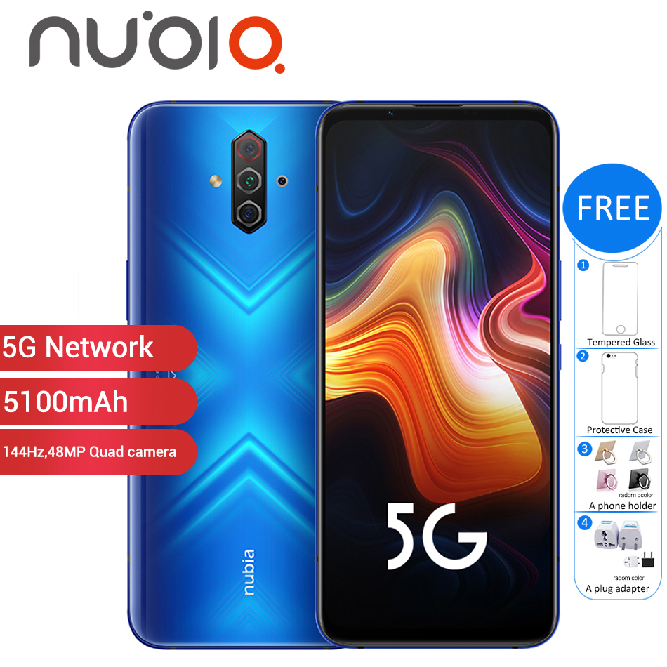 New Original ZTE Nubia Play 5G Mobile Phone 6.65