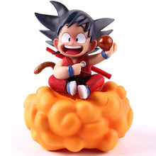 dragon ball z resolution of soldiers vol 1 son gokou vol 2 vegeta pvc collectible model 20 21cm kt3949 Dragon Ball Z Child Kid Son Goku on Somersault Cloud PVC Gokou Son Goku Action Figure Collectible Model Toy