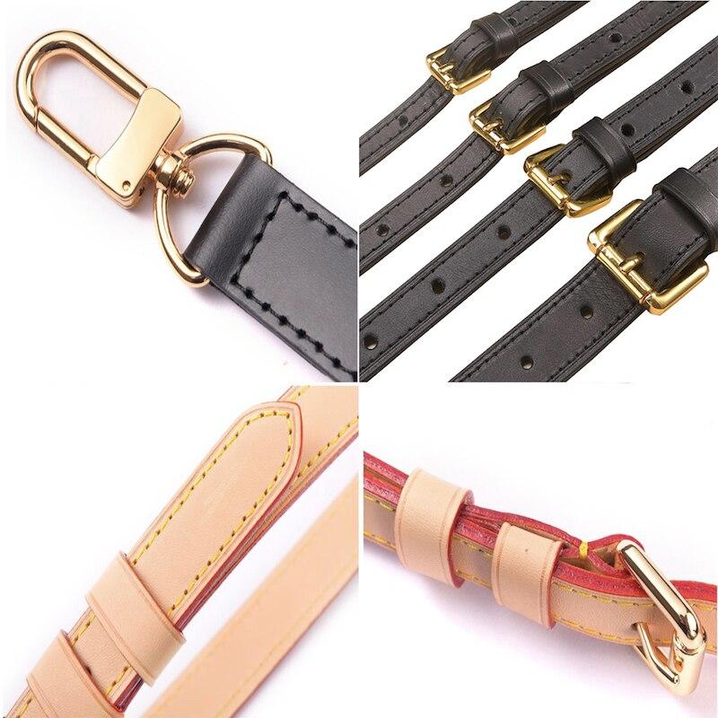 Genuine Leather Bag Strap High Quality Shoulder Strap Bag Accessories Narrow Bag Strap Hot Fashion Shoulder Bag Parts