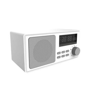 White Noise Sound Machine Retro Body Led Display Temperature Detection Alarm Reminds 9 Kinds Of Soothing Sound Source for Home O