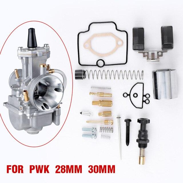 Carburetor Rapire Kit PWK 28 30 32 34 36 38 40mm Universal ReplacementFor PWK KEIHIN OKO Motorcycle Scooter UTV ATV