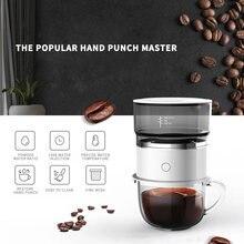Портативный кофе машина автоматическая батарея ручной капельного