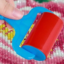 5D Square/Round Diamond Painting Tool Roller DIY Accessories for Sticking Tightly 3pcs