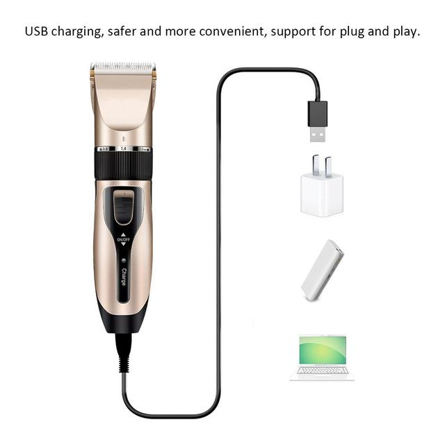 USB Dog Hair Trimmer 4