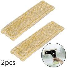 Panno Mop in microfibra 2 pezzi per Karcher WV2 5 WV 2 Premium Plus macchina per la pulizia delle finestre 2.633-130.0 parti 2019 nuovo