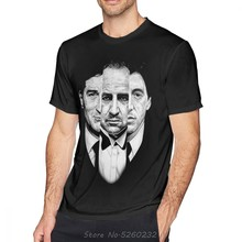 Camiseta de el padrino de triología para hombre, camiseta impresionante, Camiseta extragrande de algodón con estampado, Camiseta clásica de manga corta
