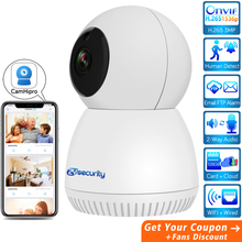 1536P FHD Wifi Mini PTZ Camera Wireless Home Security IP Camera Auto Tracking Cloud SD Card IR Night Vision Wired Camera CamHi