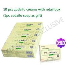 10 Stks/partij (Met Doos) Zudaifu Natuurlijke Huid Crèmes Eczeem Zalven Psoriasis Allergische Neurodermitis