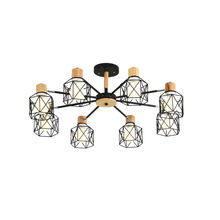 Креативная люстра паук светодиодный светильник Винтажный дизайн