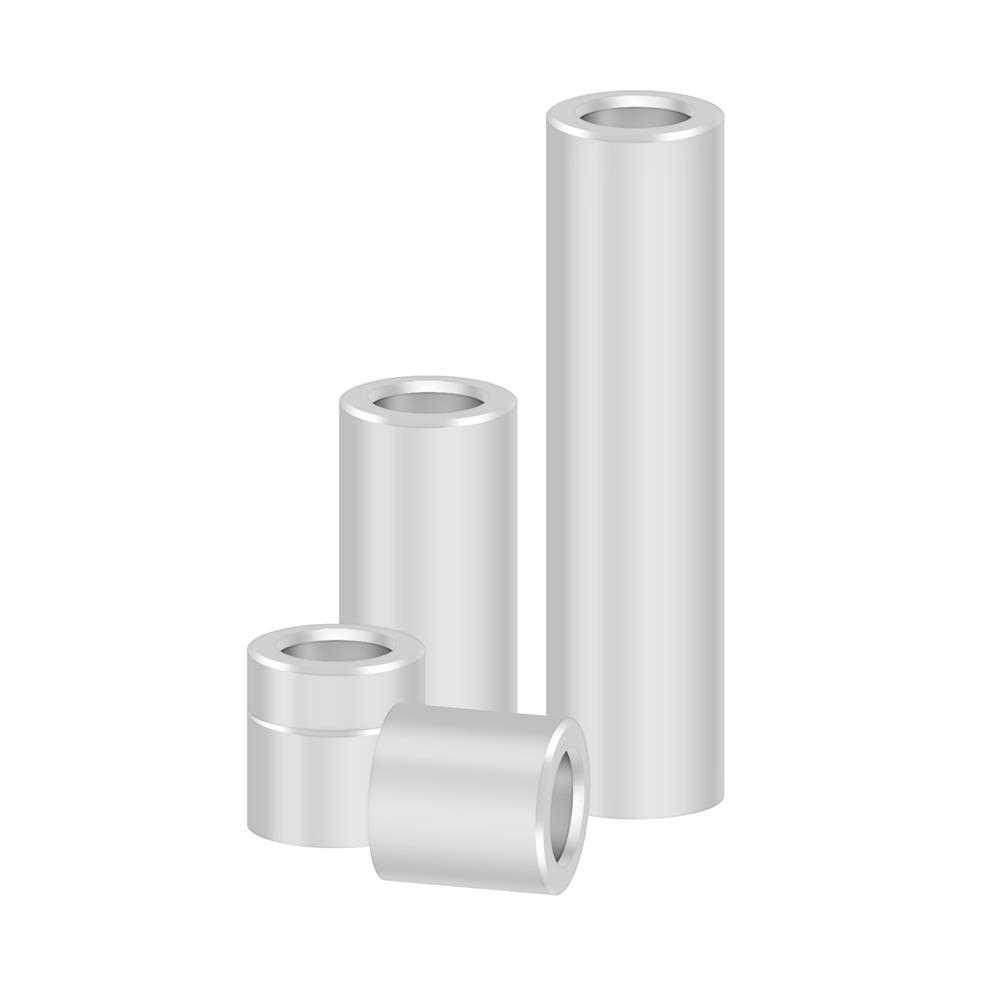 10pcs 3D Printer Parts Openbuilds Aluminium Spacer V-slot Isolation Column Separate Pillar Quarantine Bore 5MM Reprap 3D Printer