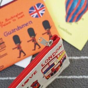 Image 1 - 20 шт./лот, винтажный пенал I love london series, пенал для карандашей, офисные школьные принадлежности