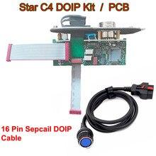 DOIP ערכת PCB עבור MB כוכב C4 בתוספת Sd להתחבר עבור מכונית & משאית עם C4 doip 16PIN כבל obd2 רכב כבל אבחון כלי רבב