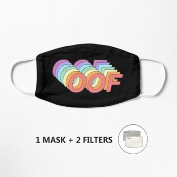 Oof Mask Cotton Mascarilla Funny Face Mouth Mask Hip Hop party Mouth Muffle Respirator image