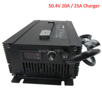 1500W 48V 20A Li ion charger Ouput 50.4V 20A / 50.4V 25A Charger Used for 48V 12S Lithium battery pack DHL Free shipping|Chargers| |  -