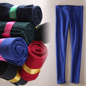 2020 Spring and Autumn female taxi combed cotton leggings women plus size outer wear high waist pants nine leggins mujer legins