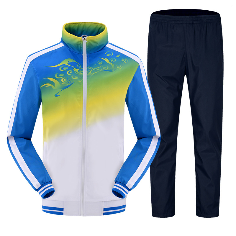 Spring And Autumn Men And Women Sports Leisure Suit School Uniform Business Attire Couples Sports Clothing