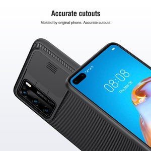 Image 4 - For Huawei P40 Case P40 5G Cover NILLKIN CamShield Case Slide Camera Protect Privacy Clean Back Cover for Huawei P40 Pro Case