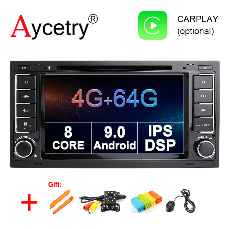 IPS DSP 8 Core 4G 64G 2 din Android 9 0 Car Multimedia dvd player GPS