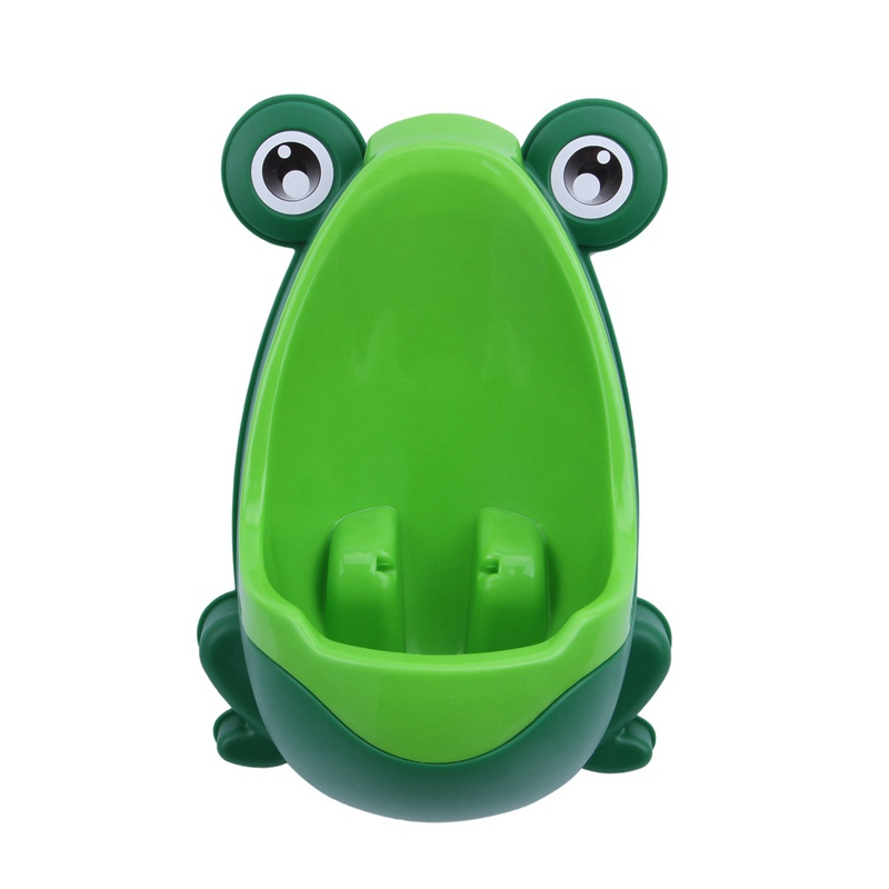 Baby Boys Kids Toddler Potty Training Pee Trainer Mini Toilet (Frog Green)